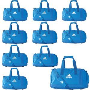10x adidas Tiro Teambag - Small - Sporttasche mit Schuhfach - BS4746 blau