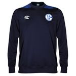 Umbro FC Schalke 04 Herren Sweat Top Longsleeve - 79616U-GTM dunkelblau 001