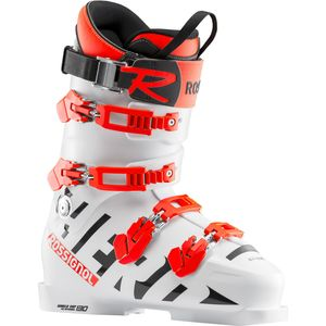 Rossignol Hero World Cup 130 White - Herren Skischuhe Ski Stiefel - RBH1010 weiß/orange