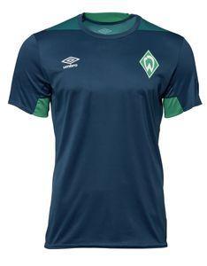 Umbro SV Werder Bremen Herren Training Jersey 18/19 - 79638U-GTP dunkelblau