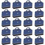 170736e0bd949 20x adidas Tiro Teambag - Large - Sporttasche mit Bodenfach - BS4755 blau