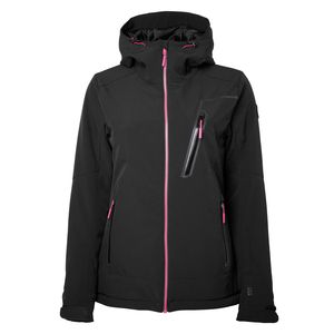 North Bend Niseko - Damen Softshell Skijacke Winter Jacke - 136509-9500 schwarz