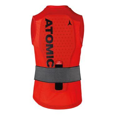 Atomic Live Shield Vest M - Herren Rückenprotektorweste Protektor Weste - AN5205030 rot
