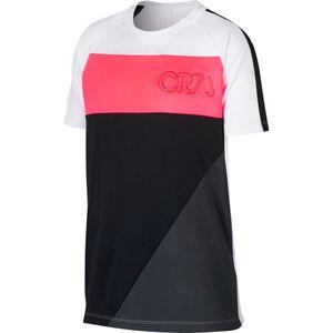 Nike Dri-Fit CR7 Shirt - Kinder Fußballshirt - AA9888-100 weiß/schwarz/rot