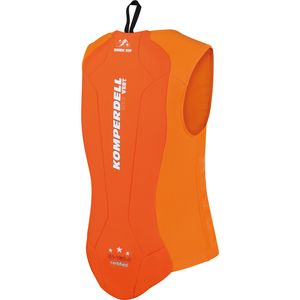 Komperdell Eco West Protektor - Kinder Rückenprotektor - 6240-29 orange