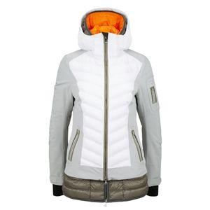 Bogner Rumer-T 18/19 - Damen Skijacke Snowboard Jacke - 3151 4815-009 weiß/silbergrau