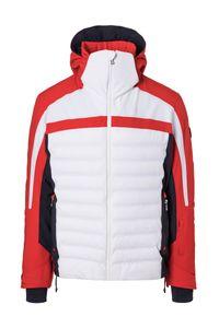 Bogner Lech-T 18/19 - Herren Skijacke Snowboard Jacke - 3122 4815-539 weiß/rot