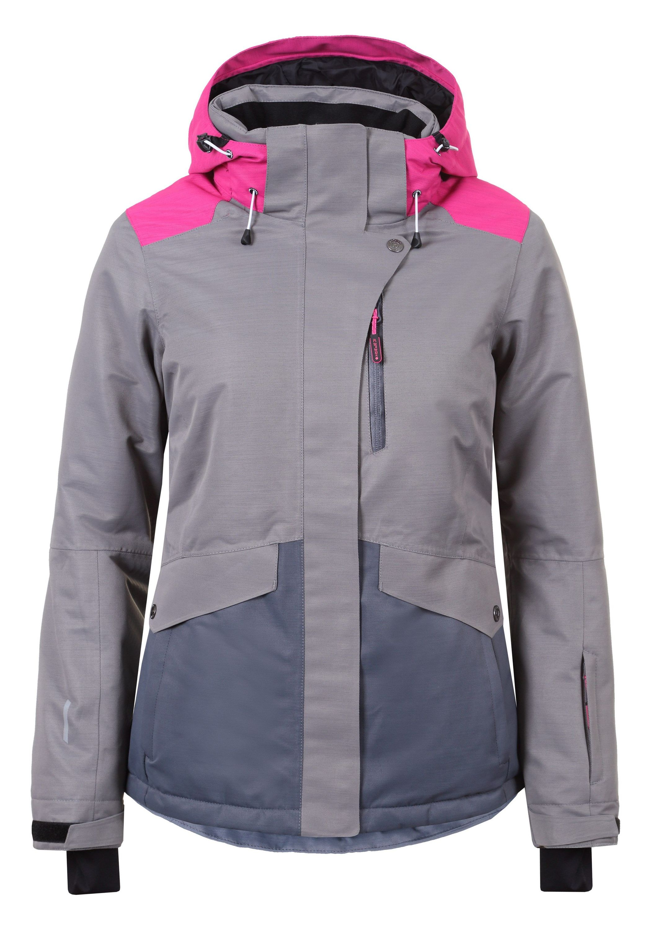 best website b837a 8d9a9 Icepeak Katlyn - Damen Skijacke Outdoorjacke - 253229576-240 grau