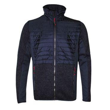 CMP Campagnolo Herren Hybrid Fleece Jacke - 38H249715BR dunkelblau