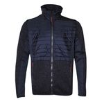 CMP Campagnolo Herren Hybrid Fleece Jacke - 38H249715BR dunkelblau 001