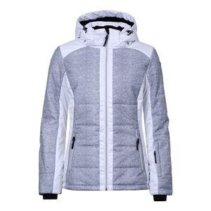 Icepeak Venla - Damen Skijacke Snowboard Jacke - 253282861-810 hellgrau/weiß