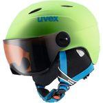Uvex Junior Visor Pro - Kinder Skihelm Snowboard Helm - S56619177 grün 001