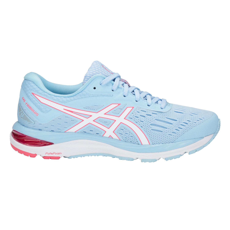Asics Gel-Cumulus 20 - Damen Laufschuhe Running Schuhe - 1012A008-402  hellblau