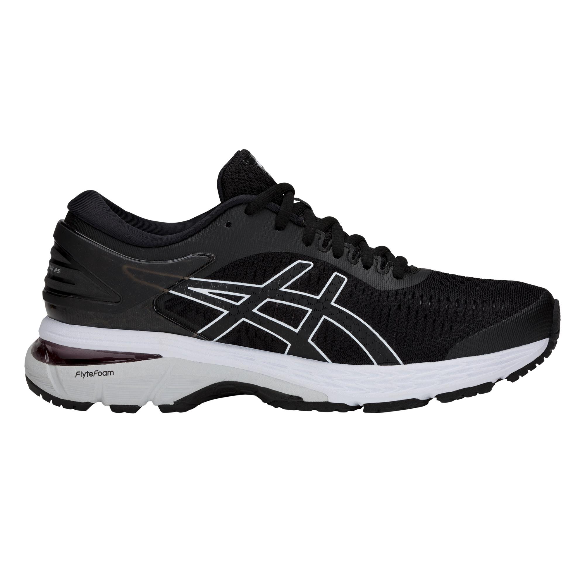 Asics Gel-Kayano 25 - Damen Laufschuhe Running Schuhe - 1012A026-003 schwarz