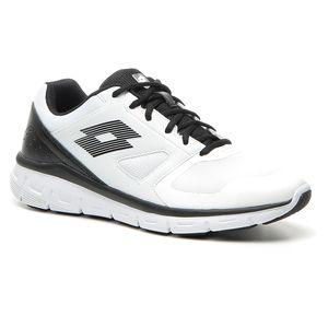 Lotto Dinamica 200 II - Herren Laufschuh Jogging Sneaker - T6093 weiß/schwarz