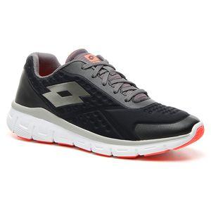 Lotto Dinamica 250 - Herren Laufschuh Jogging Sneaker - T6097 schwarz/grau