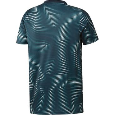 adidas Real Madrid - Herren Prematch Shirt 18/19 - DP2920 blau/weiß
