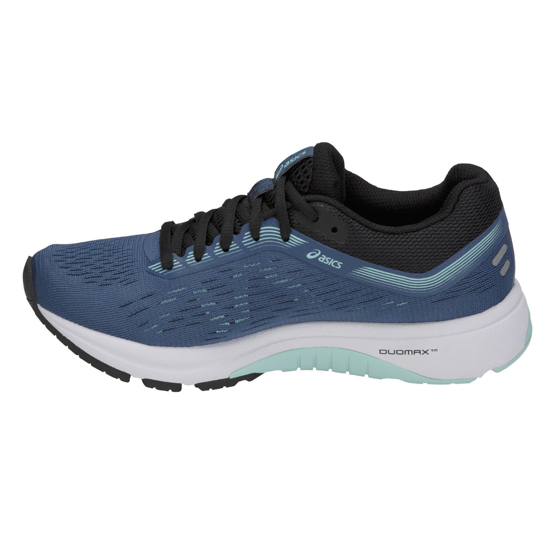e2d8675c61 Asics GT-1000 7 - Damen Laufschuhe Running Schuhe - 1012A030-401 graublau/