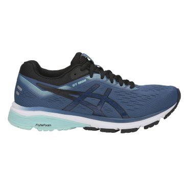 Asics GT-1000 7 - Damen Laufschuhe Running Schuhe - 1012A030-401 graublau/schwarz