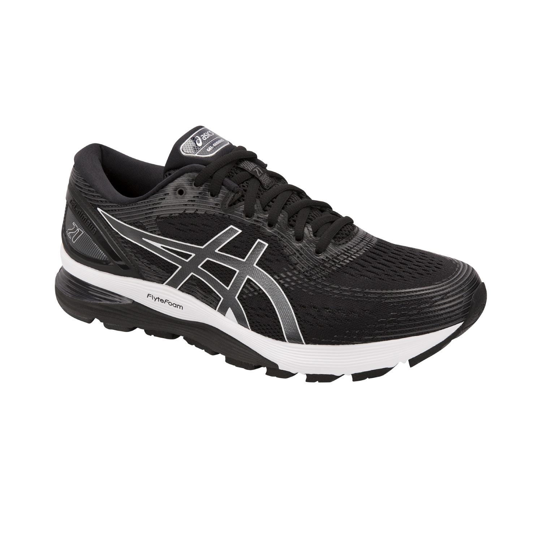 a1499b16458d63 Asics Gel-Nimbus 21 - Herren Laufschuhe Running Schuhe 1011A169-001 schwarz  grau
