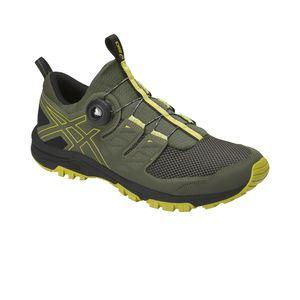 Asics Gel-FujiRado - Herren Laufschuhe Running Schuhe - T7F2N-8189 grün