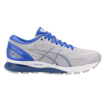 Asics Gel-Nimbus 21 Lite-Show - Herren Laufschuhe Running Schuhe - 1011A207-020 grau/blau