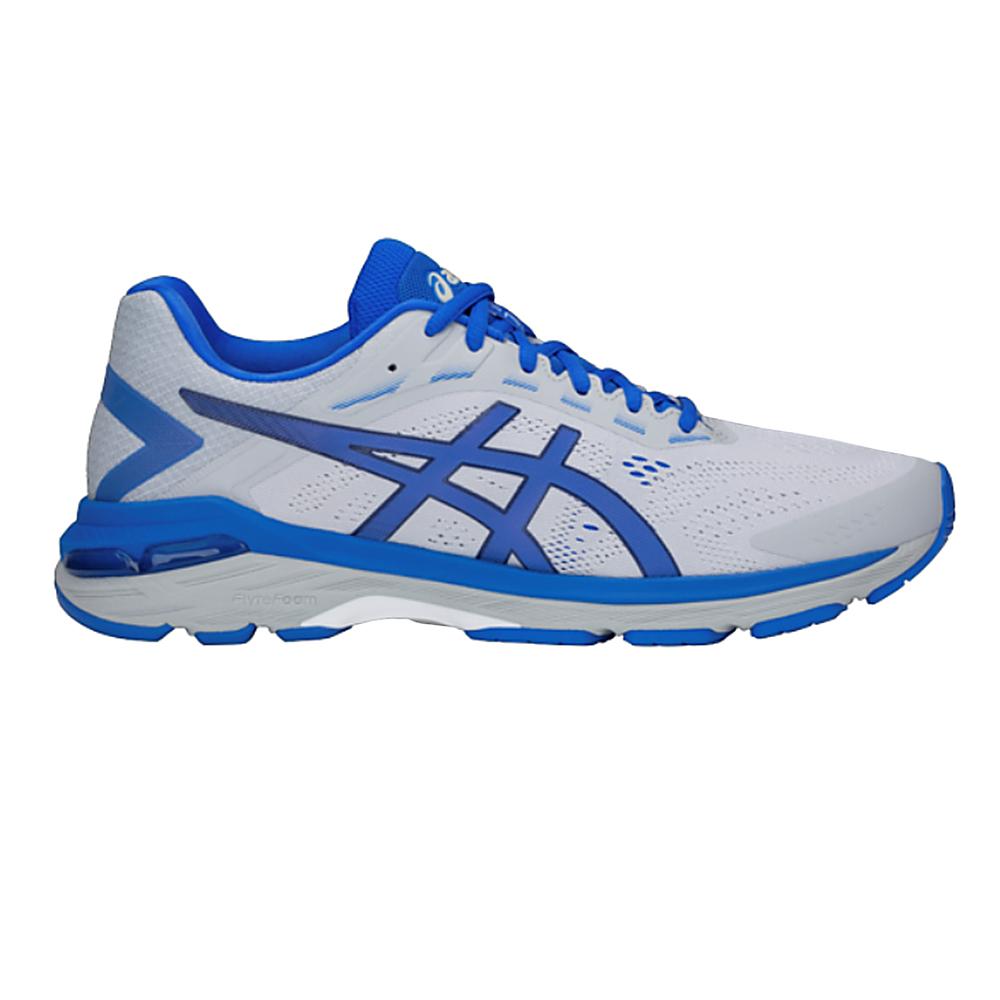 Asics GT-2000 7 Lite-Show - Damen Laufschuhe Running Schuhe - 1012A186-020 grau/blau