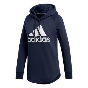 adidas Must Have Badhe Of Sport Hoodie - Damen Kapuzenpullover - DU0015 dunkelblau