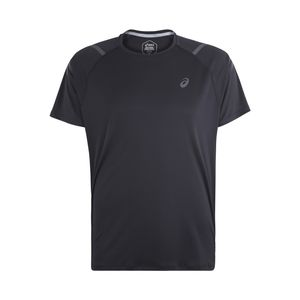 Asics Icon Short Sleeve Top - Herren Laufshirt Running T-Shirt - 2011A259-001 schwarz