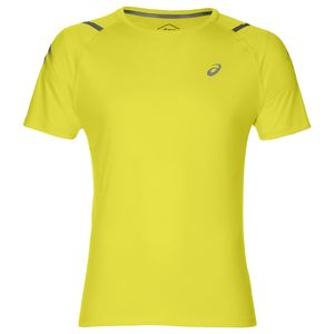Asics Icon Short Sleeve Top - Herren Laufshirt Running T-Shirt - 2011A259-750 gelb
