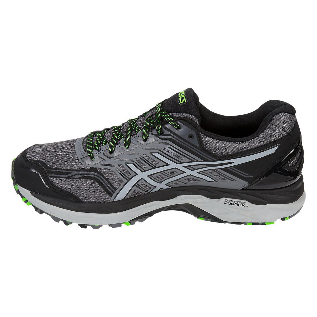 Asics GT 2000 5 Trail Herren Jogging Trail Running Schuhe T712N 9796 graugrün