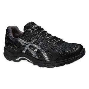 Asics Gel-FujiFreeze 3 G-TX - Damen Laufschuhe Walking Schuhe - T5P9N-9093 schwarz