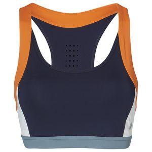 Asics Color Block Bra 2 - Damen Sport BH - 2032A409-400 grau/orange