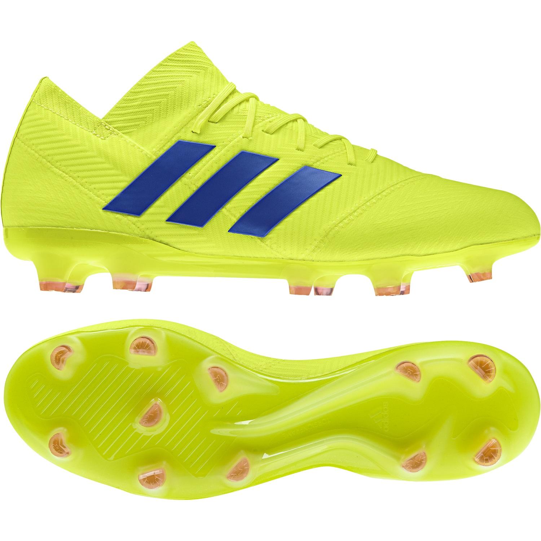 adidas Nemeziz 18.1 FG - Herren Fußballschuhe Nockenschuhe - BB9426 gelb