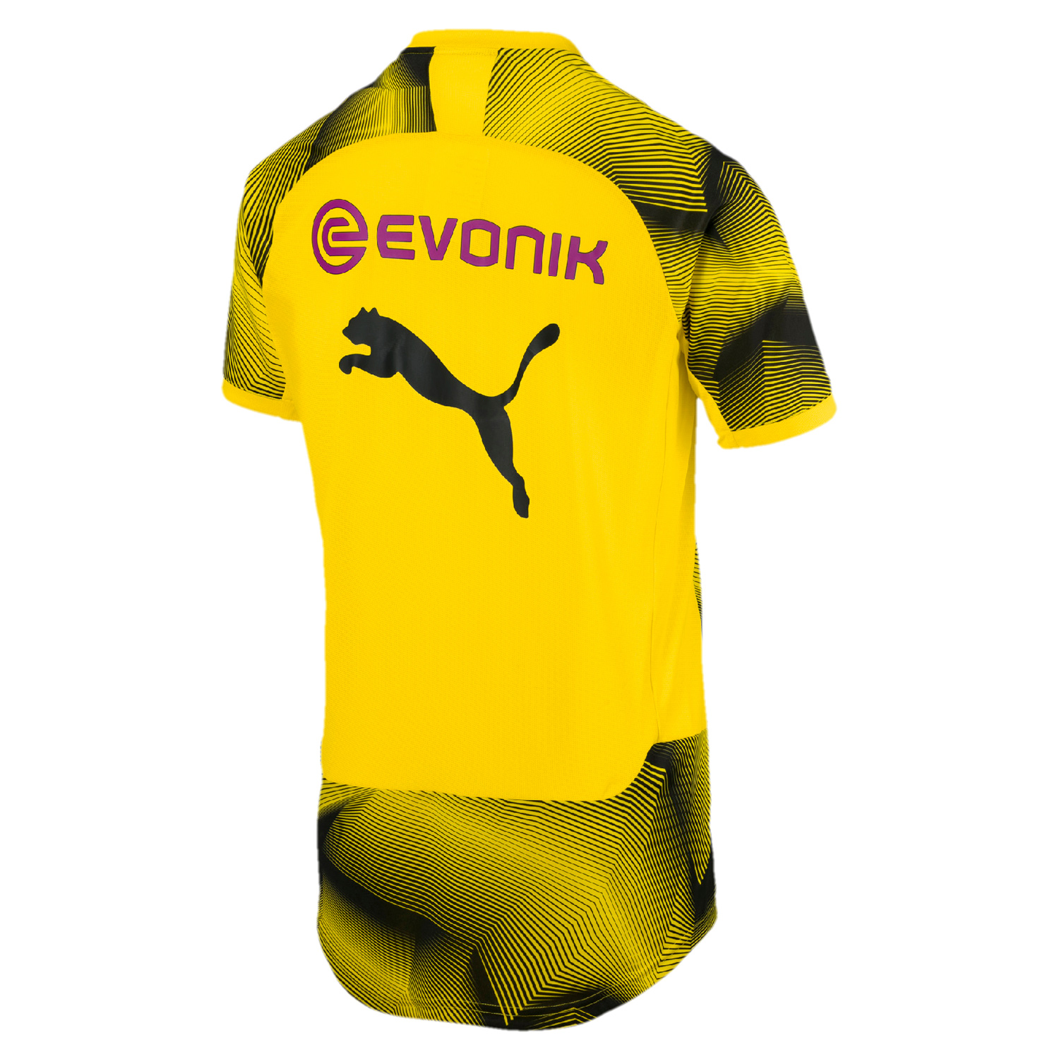 puma bvb borussia dortmund stadium graphic jersey kids. Black Bedroom Furniture Sets. Home Design Ideas