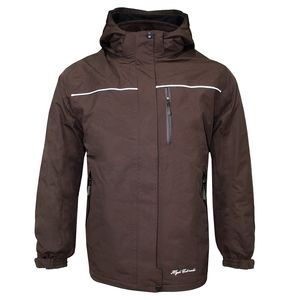High Colorado Fellhorn 4 - Kinder Doppeljacke 2 in 1 Jacke - 116786-8043 braun