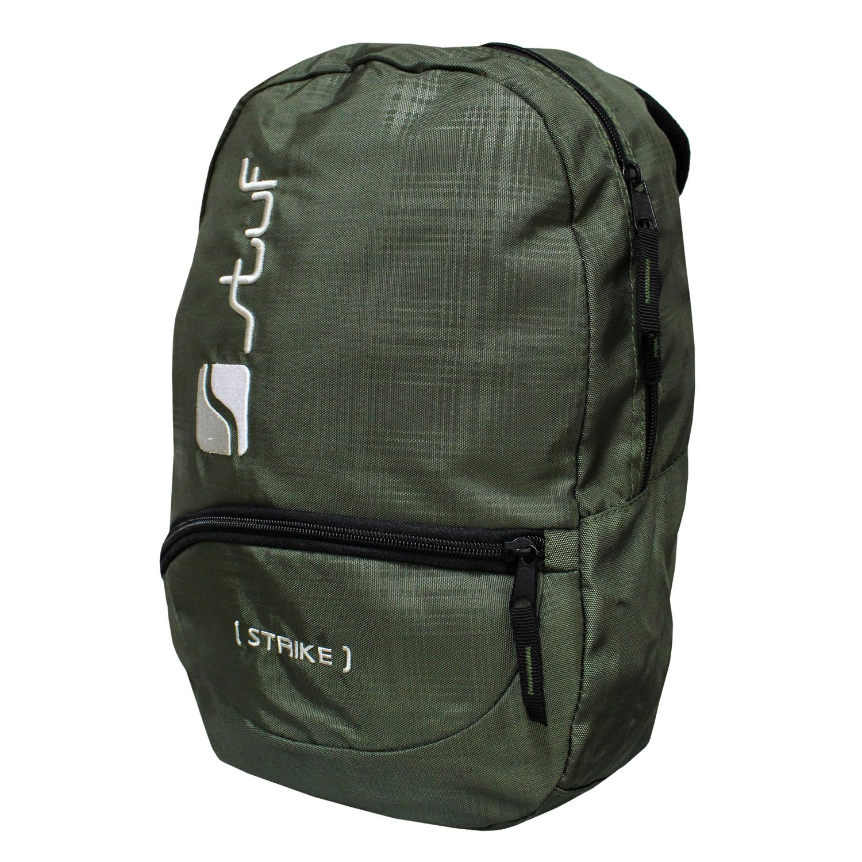 Image of Stuf Strike Backpack - Rucksack Tasche - 118519 oliv