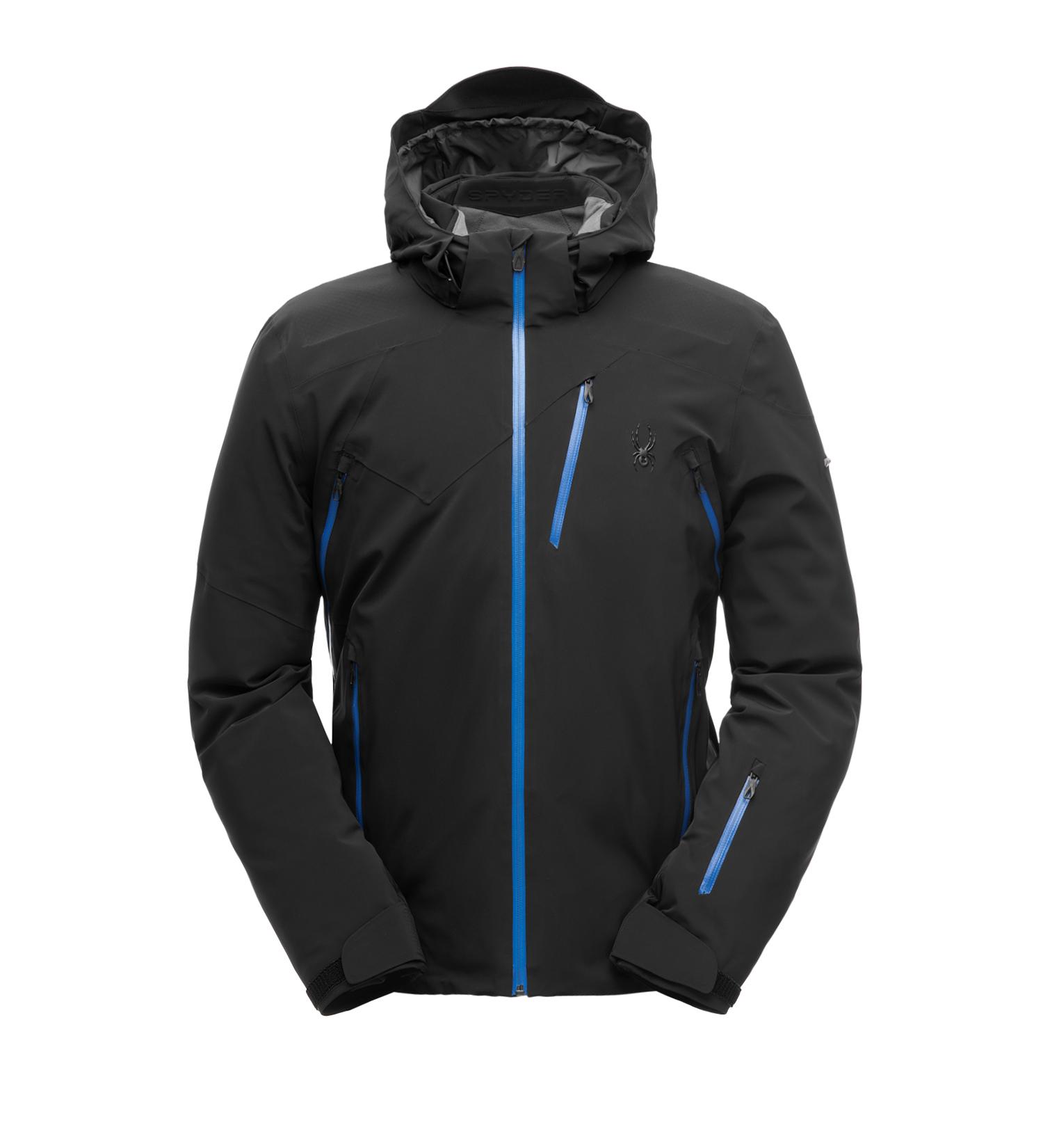 half off 7e0e7 a41a9 Spyder M Cordin GTX Jacket - Herren Gore-Tex Skijacke Snowboardjacke -  181710-001 schwarz/blau