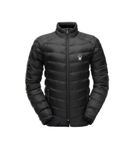 Spyder M Geared Synthetic Down Jacket - Herren Skijacke Snowboard Jacke - 181458-001 schwarz
