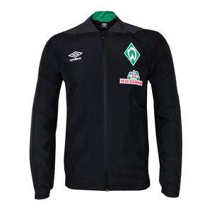 umbro SV Werder Bremen - Herren Woven Jacket Präsentationsjacke - 79936U schwarz