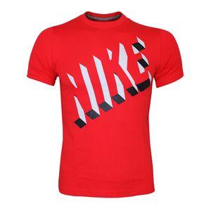 Nike Drop Shadow Shirt - Kinder T-Shirt - 453666-693 rot/grau