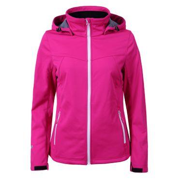 Icepeak Lucy - Damen Softshelljacke Outdoorjacke - 354974694-638 pink