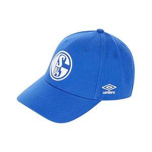 umbro FC Schalke 04 Königsblau Cap - Mütze Basecap - UMHM0103C blau