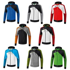 Erima Premium One 2.0 - Kinder Trainingsjacke mit Kapuze