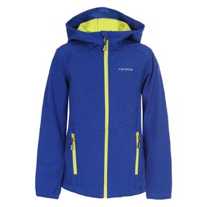 Icepeak Teiko Jr - Kinder Softshelljacke Outdoorjacke - 351813682-373 blau
