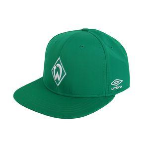 umbro SV Werder Bremen Pearl Nylon Cap - Cap Snapback Mütze - UMHM0124F grün