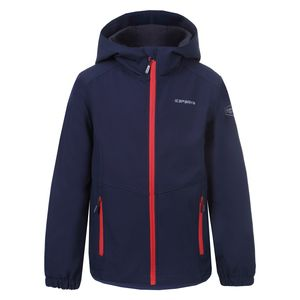 Icepeak Teiko Jr - Kinder Softshelljacke Outdoorjacke - 351813682-387 marinenblau