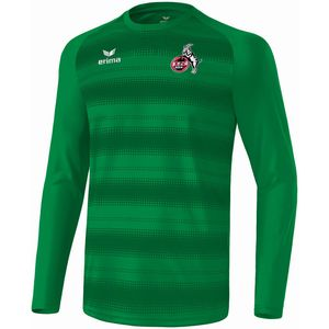 Erima 1.FC Köln - Kinder langarm Trikot blanko ohne Sponsor - 3140712 smaragd grün