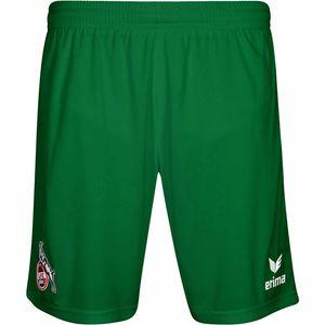 Erima 1.FC Köln - Kinder Short kurze Hose mit Innenslip - 3160708 smaragd grün