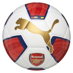 Puma FC Arsenal London Fanwear Ball 1 - Ball Fußball Trainingsball - 082522-01 weiß/rot